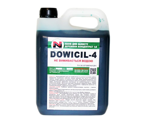 Wood preservative DOWISIL-4 concentrate 1: 9 10l.