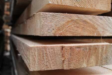 Брус обрезной сосна 50*200 мм