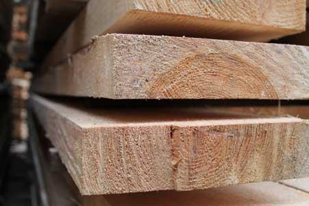 Edged bar beam 50*200 mm