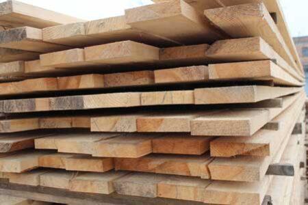 Board cut pine 25*120 mm