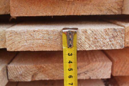 Дошка обрізна сосна 25*150 мм