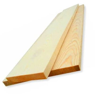 Dry planed board