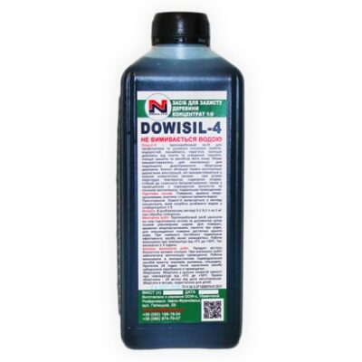 Wood preservative DOWISIL-4 concentrate 1: 9 1l.