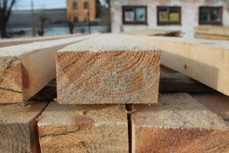Edged bar beam 50*100 mm