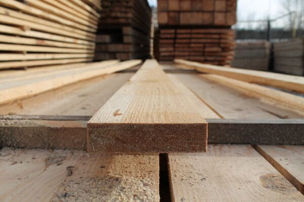 Board edged pine 25*100*3000 mm