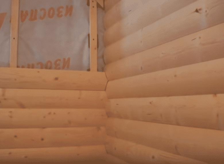 Стыковка блок хауса в углу