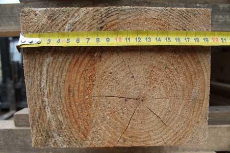 Брус обрезной сосна 150*200 мм