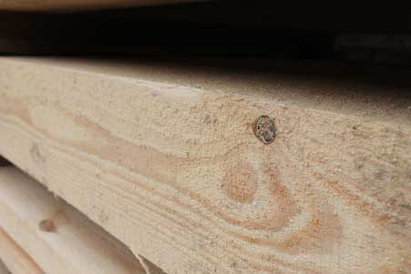 Edged pine beam 150*200 mm