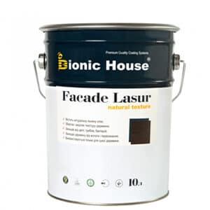 Краска для дерева на основе льняного масла «Facade Lasur»