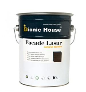 Фарба для дерева на основі лляної олії «Facade Lasur» - Bionic